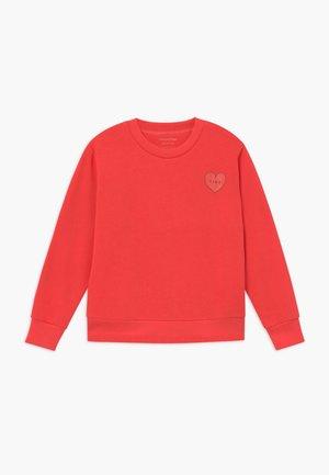 CROP - Sweatshirt - light red