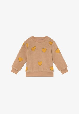 HEARTS  - Sweatshirt - light nude/yellow