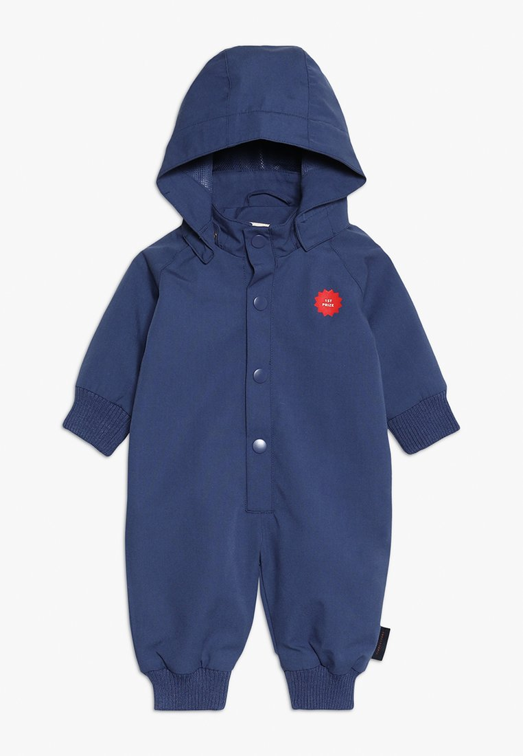TINYCOTTONS - 1ST PRIZE SOLID ONE PIECE BABY - Jumpsuit - light navy/red