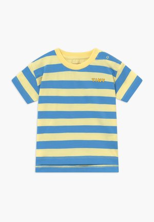 TINY STRIPES TEE - Triko s potiskem - lemonade/cerulean blue
