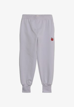 APPLE  - Pantalones deportivos - light lilac/burgundy