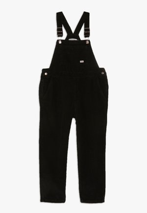 OVERALL - Dungarees - black