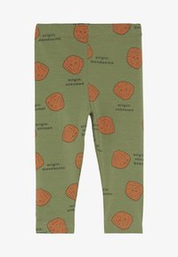TINYCOTTONS - SHELLS PANT - Legging - green wood/brown - 2