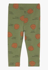 TINYCOTTONS - SHELLS PANT - Legging - green wood/brown - 1