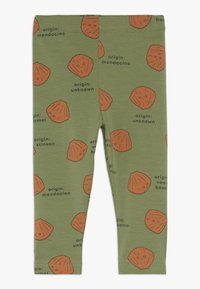 TINYCOTTONS - SHELLS PANT - Legging - green wood/brown - 0