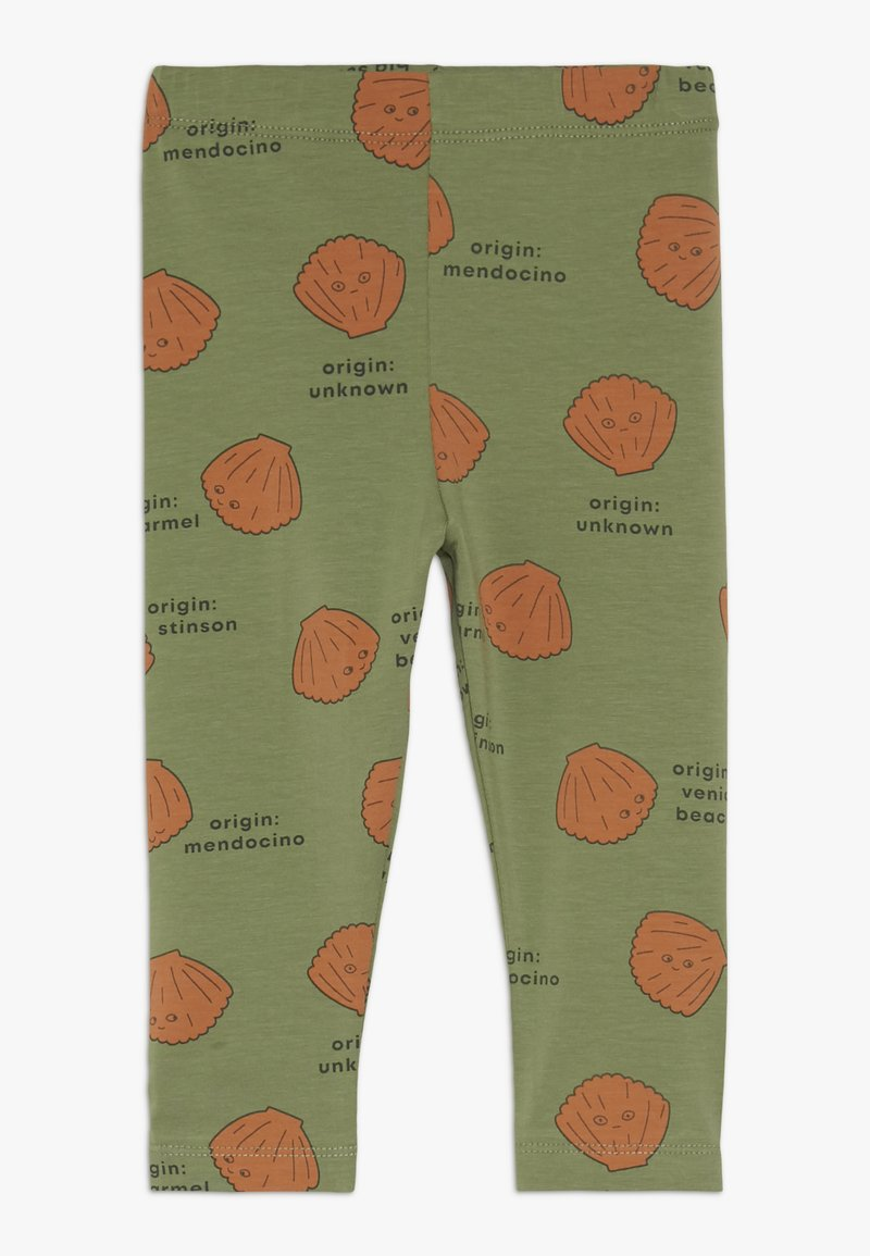 TINYCOTTONS - SHELLS PANT - Legging - green wood/brown