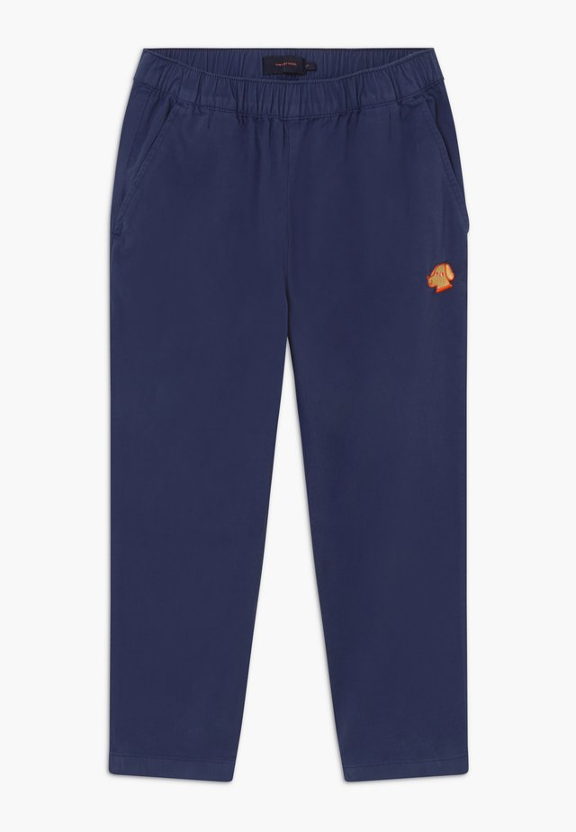 DOG PANT - Stoffhose - navy