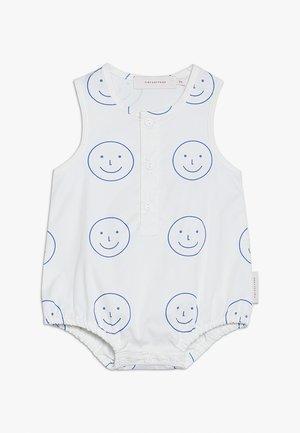 HAPPY FACE ONE PIECEBABY - Jumpsuit - off white/ultramarine