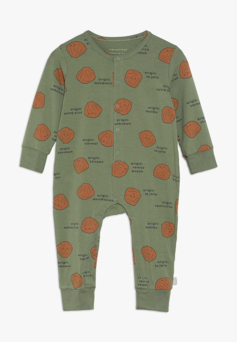 TINYCOTTONS - ONE PIECE - Jumpsuit - green wood/brown