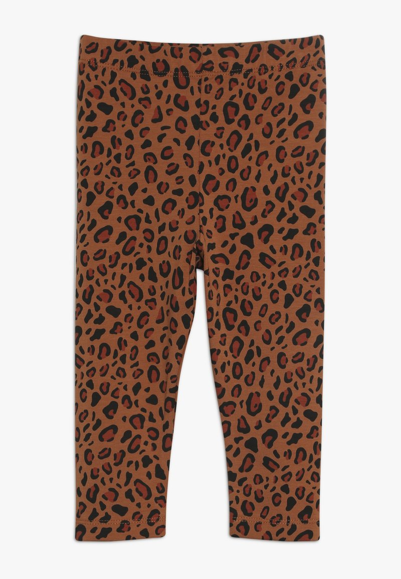 TINYCOTTONS - ANIMAL PRINT PANT - Leggings - Trousers - brown/dark brown