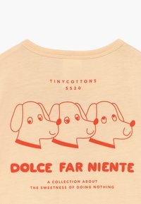 TINYCOTTONS - DOGS ONE-PIECE - Overal - light cream/red