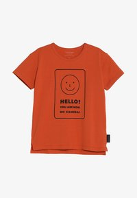 TINYCOTTONS - SMILE TEE - Print T-shirt - sienna/navy - 3