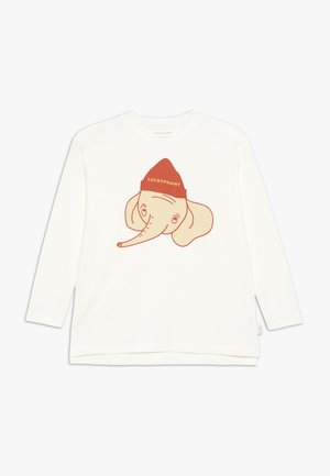 LUCKYPHANT  - Long sleeved top - off-white/sand