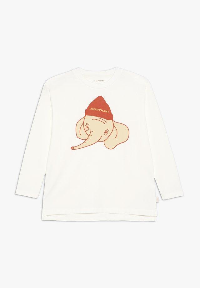 LUCKYPHANT  - Bluzka z długim rękawem - off-white/sand