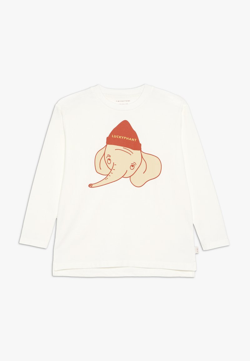 TINYCOTTONS - LUCKYPHANT  - Long sleeved top - off-white/sand