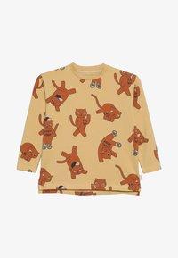 TINYCOTTONS - CATS TEE - Camiseta de manga larga - sand/brown - 2