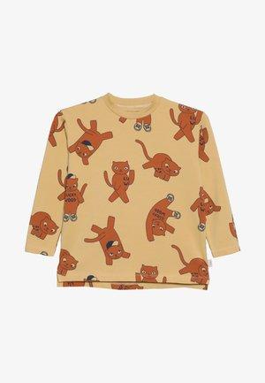 CATS TEE - Langærmede T-shirts - sand/brown