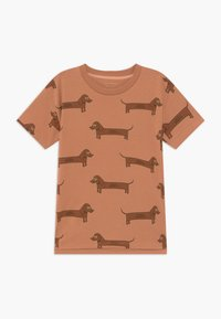 TINYCOTTONS - IL BASSOTTO TEE - Camiseta estampada - tan/ brown - 0
