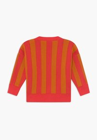 TINYCOTTONS - STRIPES CARDIGAN - Kardigan - red/brick