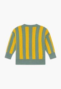 TINYCOTTONS - STRIPES CARDIGAN - Kardigan - sea green/yellow - 3