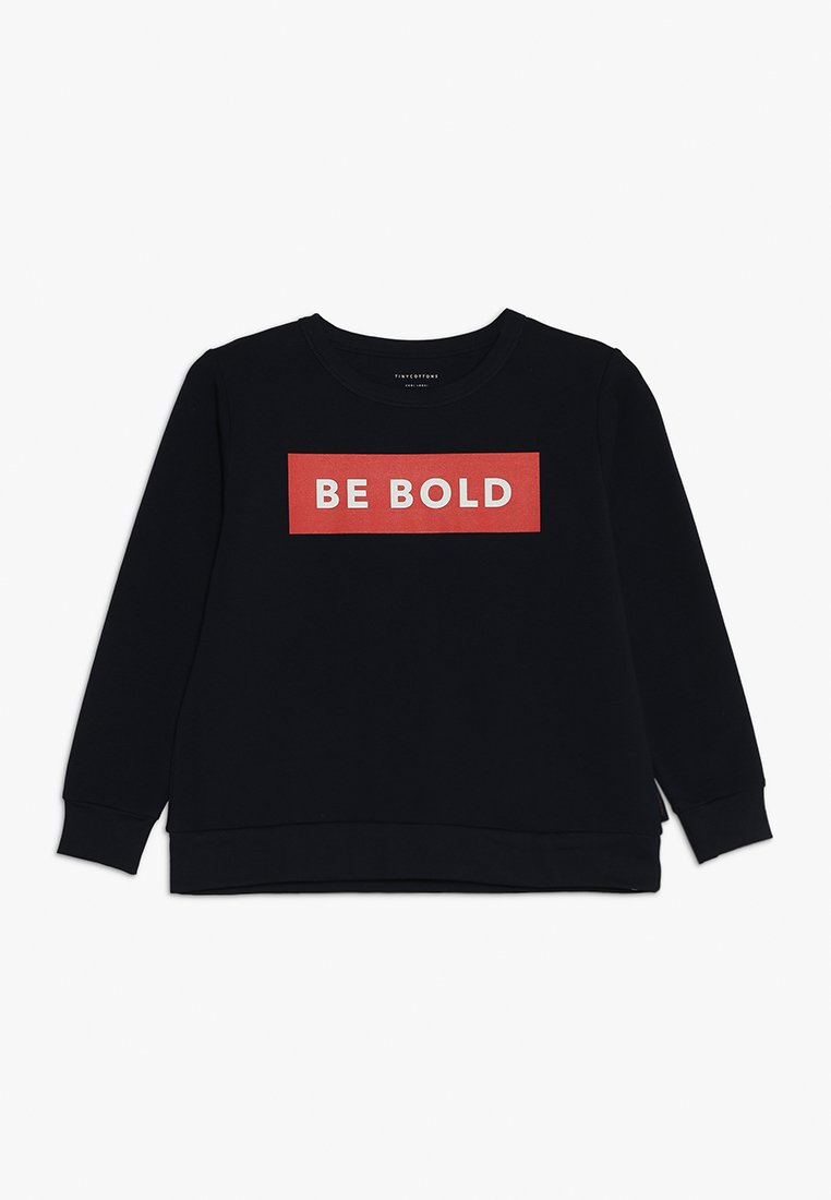 TINYCOTTONS - BE BOLD - Sweatshirt - navy/red
