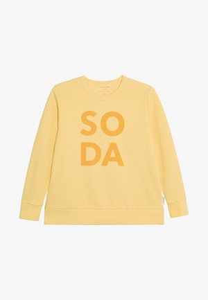 SODA - Camiseta de manga larga - canary/deep yellow