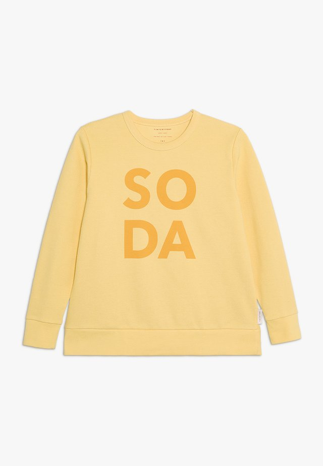 SODA - Long sleeved top - canary/deep yellow