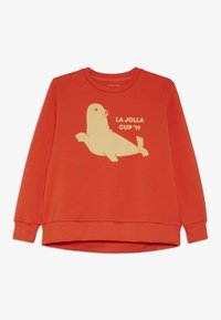 TINYCOTTONS - SEAL  - Sudadera - red/sand - 0