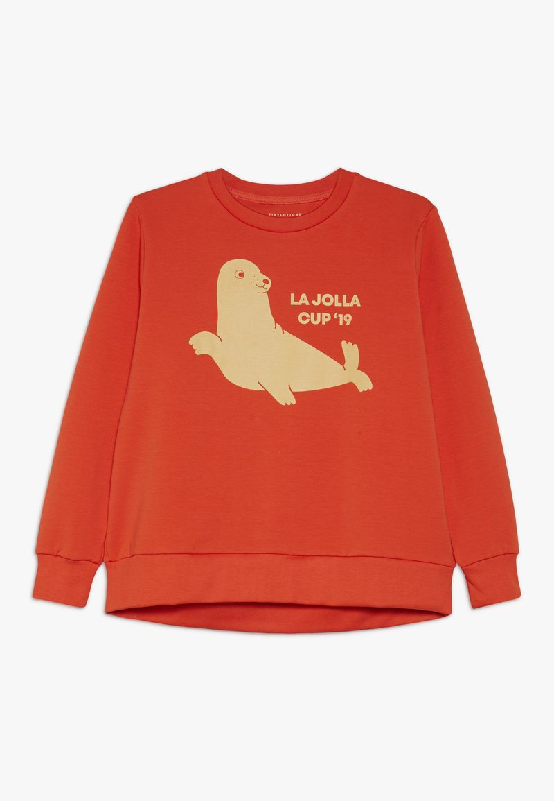 TINYCOTTONS - SEAL  - Sudadera - red/sand