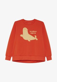 TINYCOTTONS - SEAL  - Sudadera - red/sand - 2