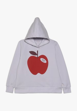 APPLE HOODY - Jersey con capucha - light lilac/burgundy