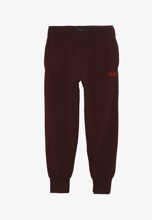 LUCKYWOOD SIGN  - Pantalones deportivos - aubergine/red