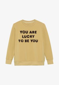 TINYCOTTONS - YOU ARE LUCKY - Sweatshirt - sand/aubergine - 3