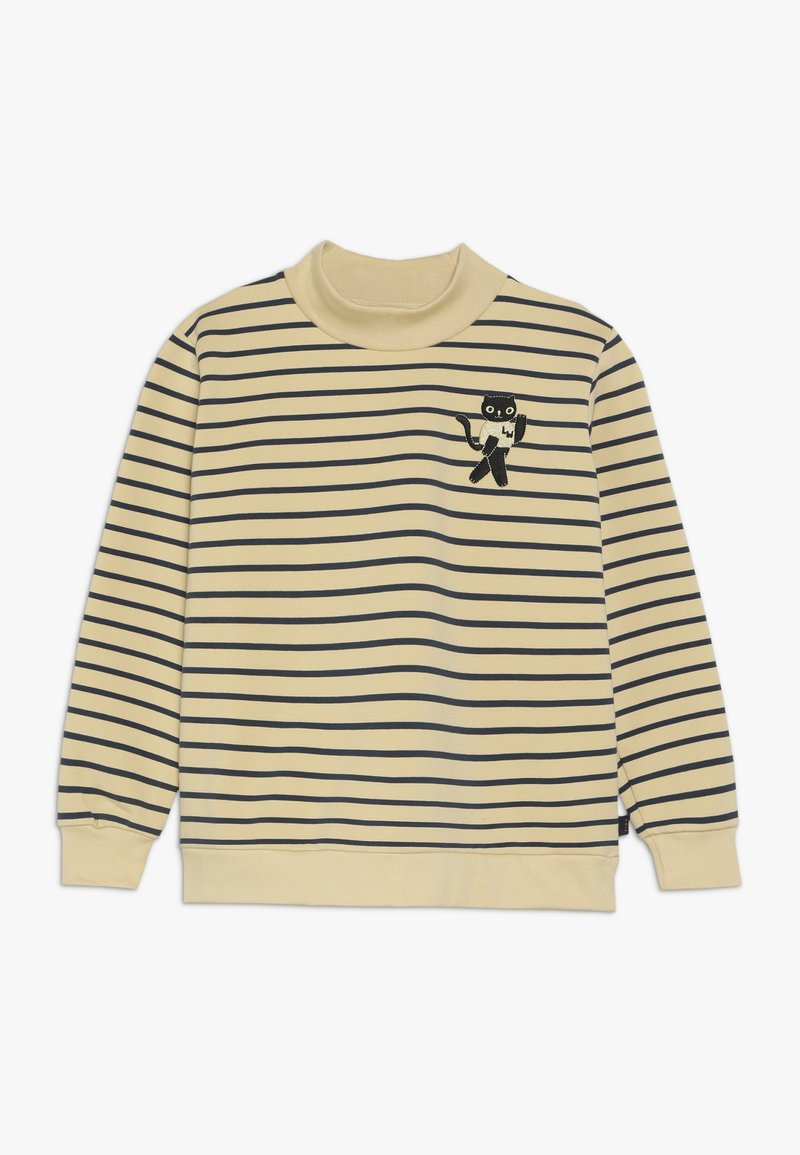 TINYCOTTONS - CAT  - Sweatshirt - sand/true navy