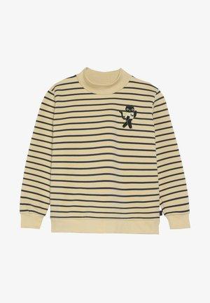 CAT  - Sweatshirt - sand/true navy