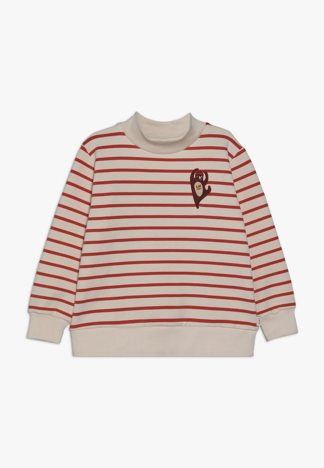 CITIZEN - Sweatshirt - light cream/red
