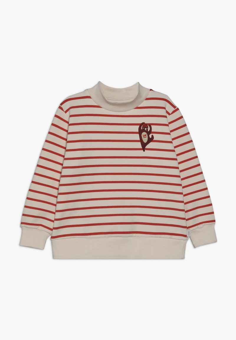 TINYCOTTONS - CITIZEN - Sudadera - light cream/red