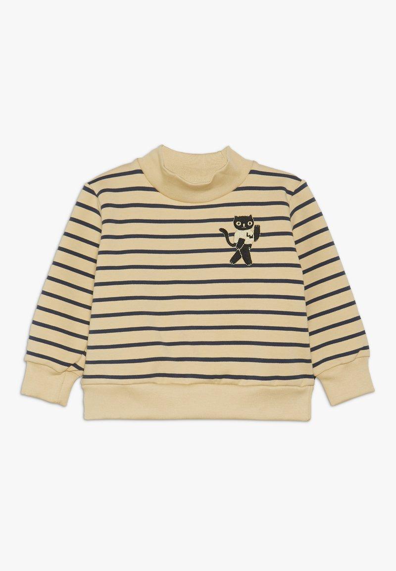 TINYCOTTONS - CAT  - Sweatshirt - sand/true navy