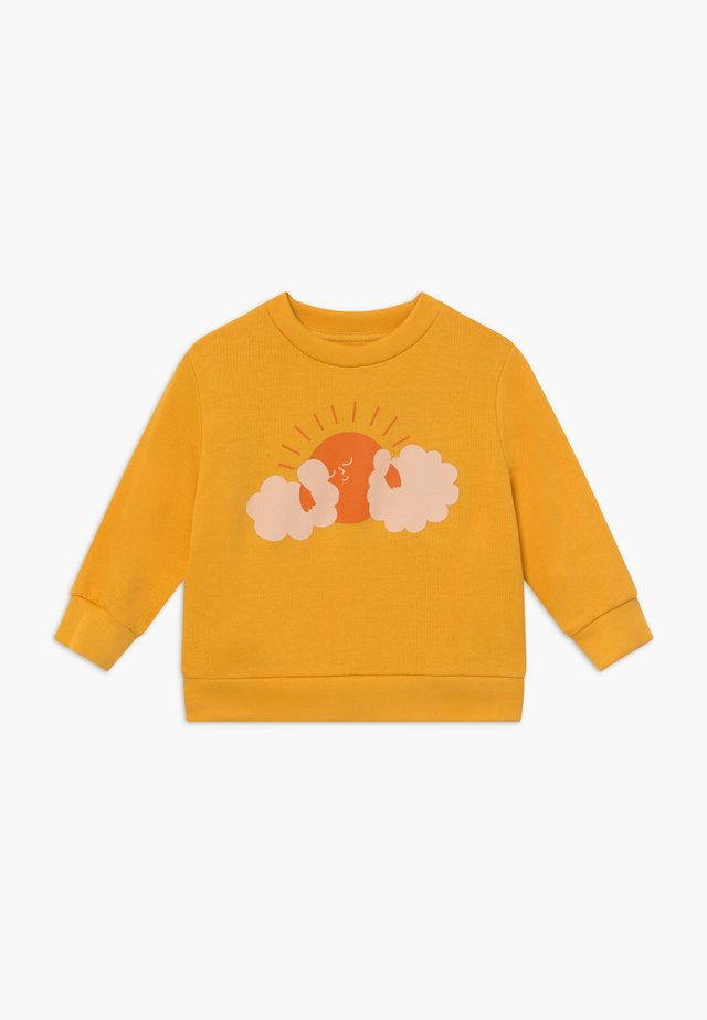 SUN  - Sweatshirt - yellow/brick