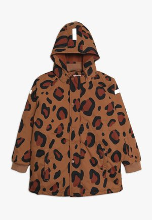 ANIMAL PRINT SNOW JACKET - Zimní bunda - brown