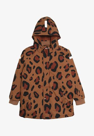 ANIMAL PRINT SNOW JACKET - Zimní bunda - brown