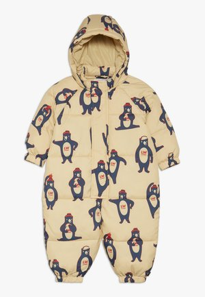 BEARS ONE PIECE - Mono para la nieve - sand/true navy