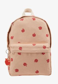 TINYCOTTONS - APPLES BACKPACK - Batoh - nude/burgundy - 1