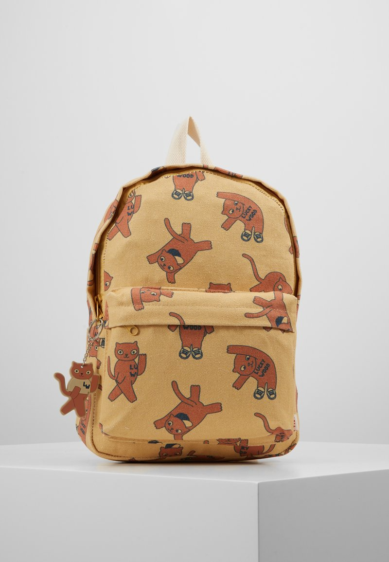 TINYCOTTONS - CATS BACKPACK - Rugzak - sand