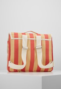 TINYCOTTONS - CITIZEN BACKPACK - Batoh - sand/red - 3
