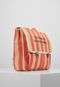TINYCOTTONS - CITIZEN BACKPACK - Batoh - sand/red - 4