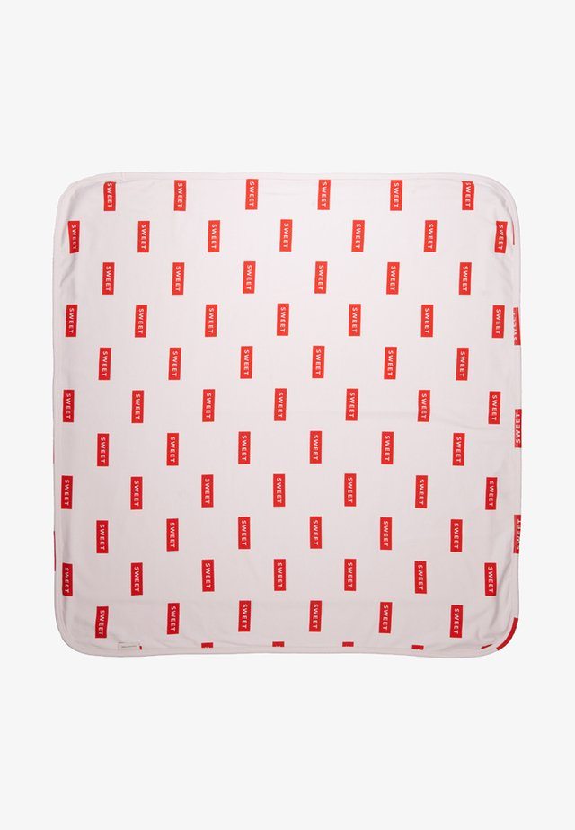 SWEET BLANKET BABY - Play mat - pearl/red