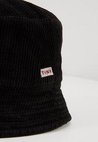 TINYCOTTONS - BUCKET HAT - Sombrero - black - 2