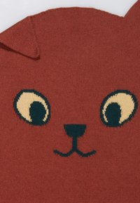 TINYCOTTONS - CATS SCARF - Sjaal - dark brown - 1