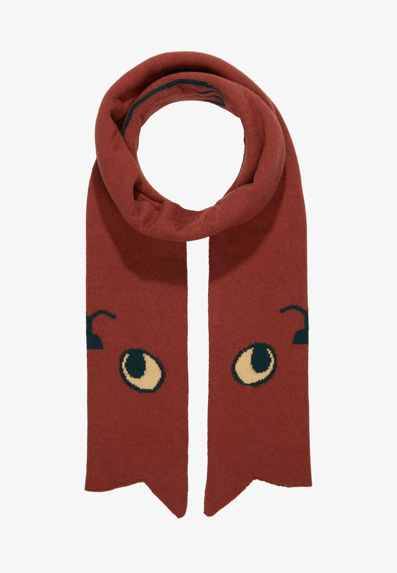 TINYCOTTONS - CATS SCARF - Sjaal - dark brown